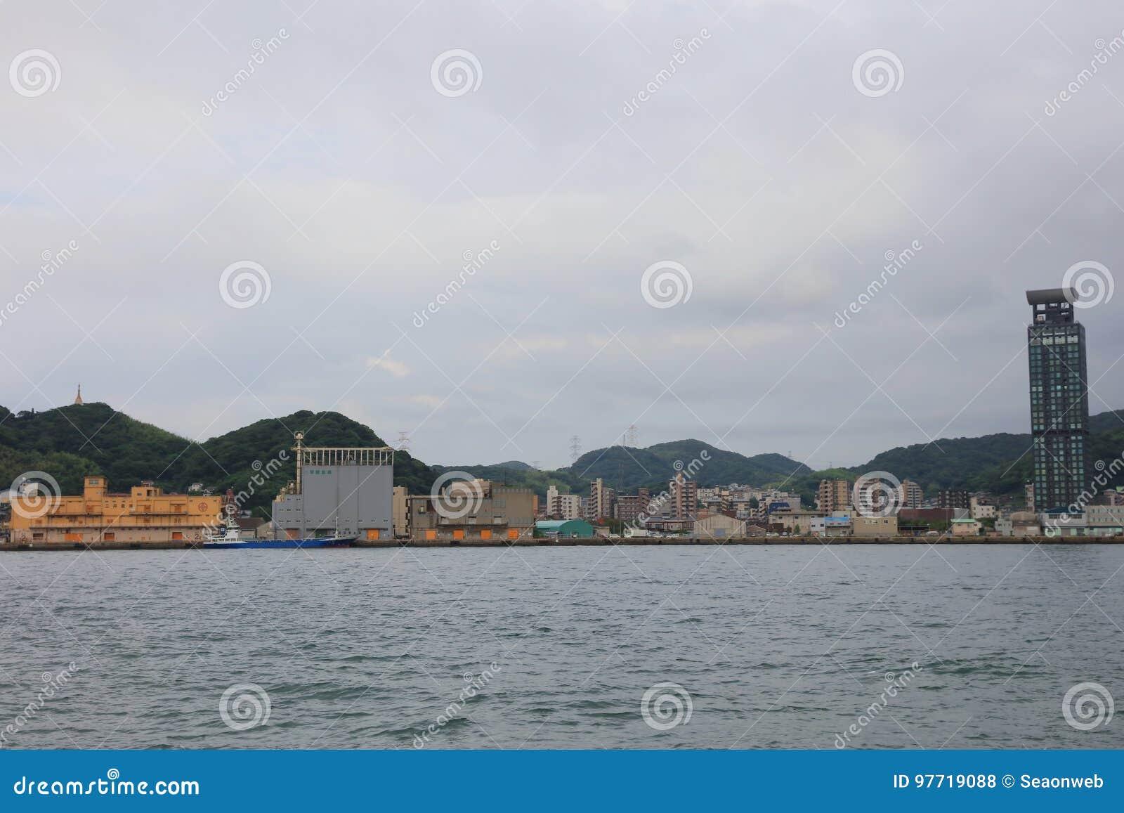 Kitakyushu, de Prefectuur van Fukuoka, Japan