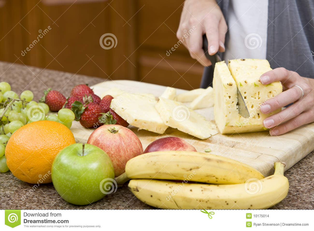 In The Kitchen Stock Images Image 10175014