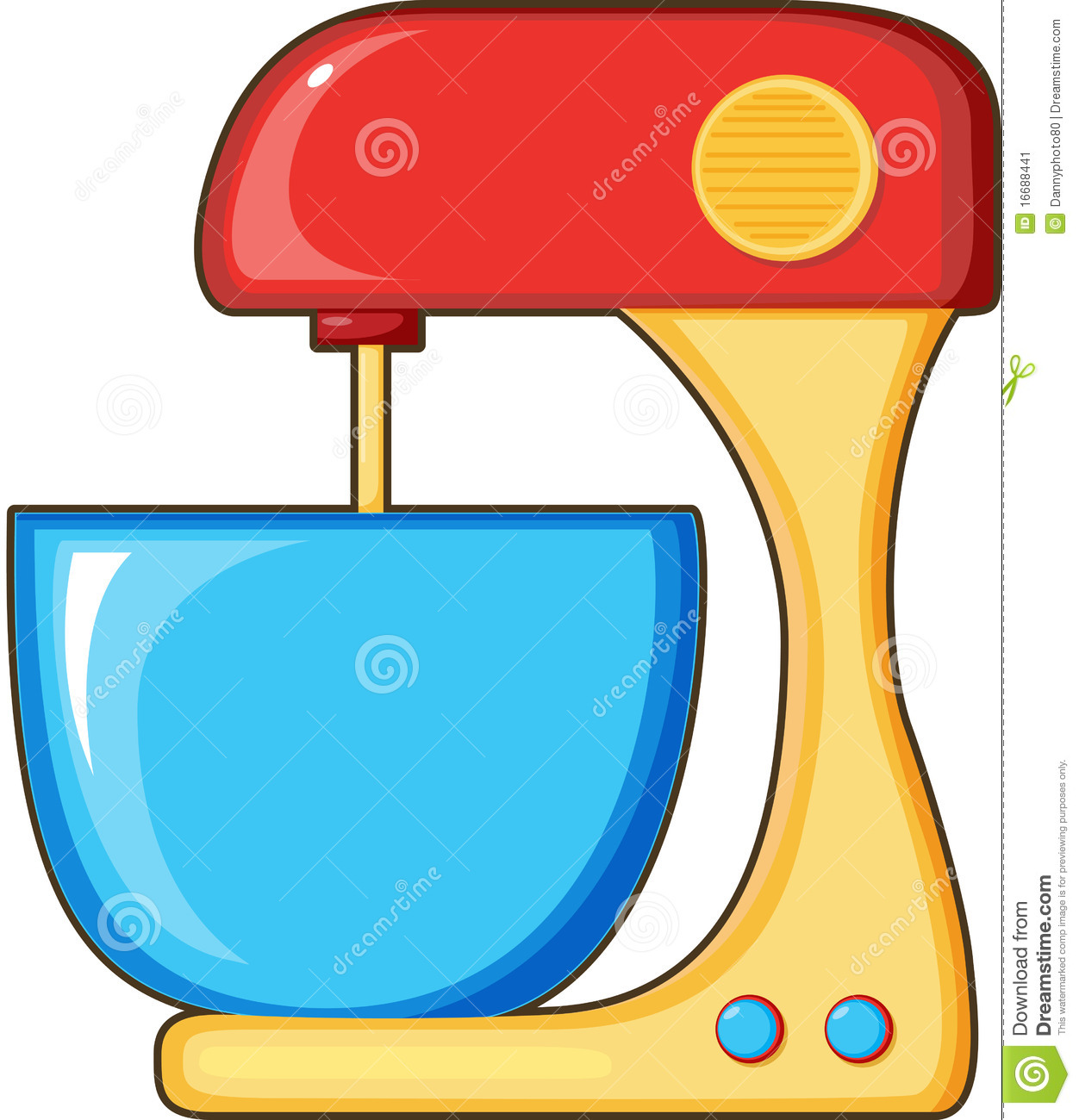 Kitchen Appliances Clip Art ~ Kitchen appliances stock image