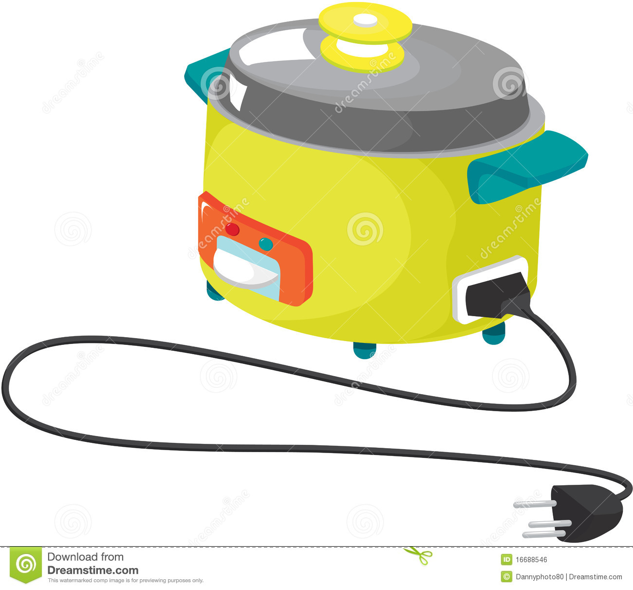 Kitchen Appliances Clip Art ~ Kitchen appliances royalty free stock image