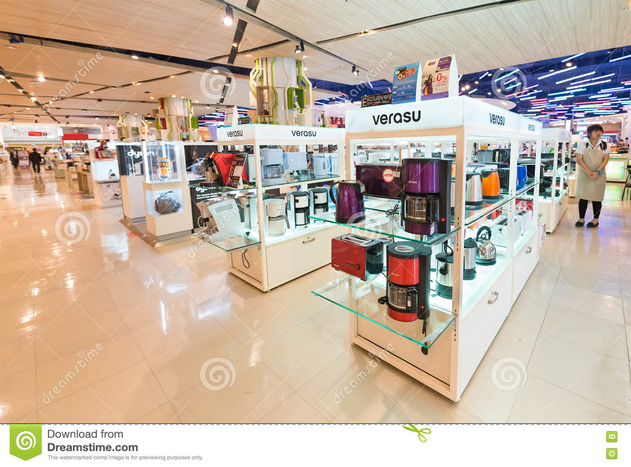 Kitchen Appliances At Siam Paragon Mall, Bangkok Editorial Photo ...