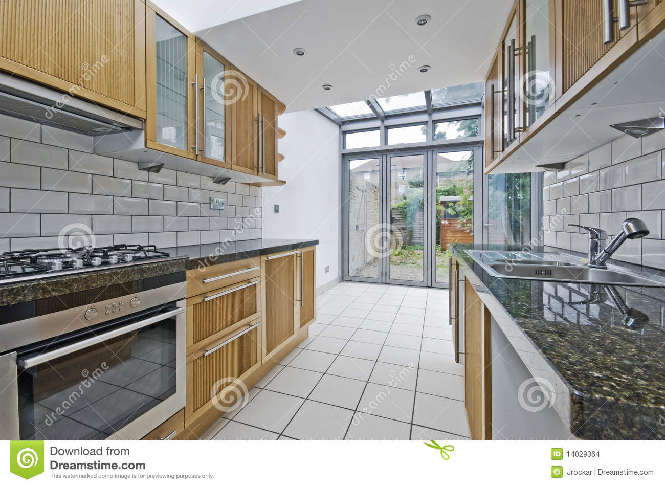Kitchen with atrium stock images image 14029364 for Atrium white kitchen cabinets