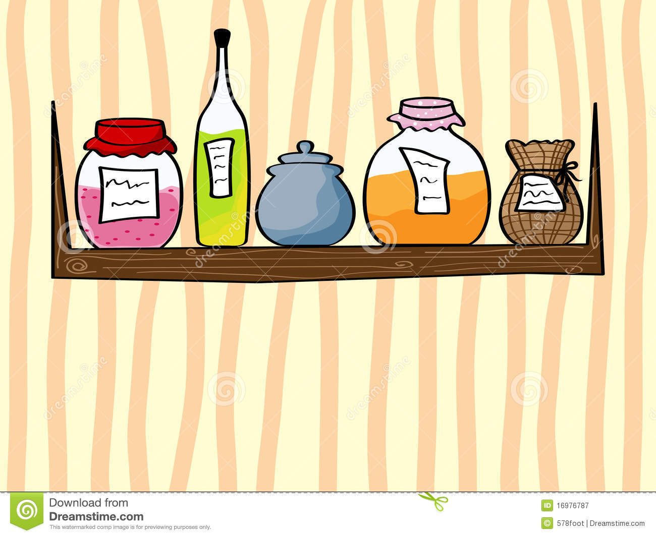 Kitchen Background Royalty Free Stock Photography Image 16976787