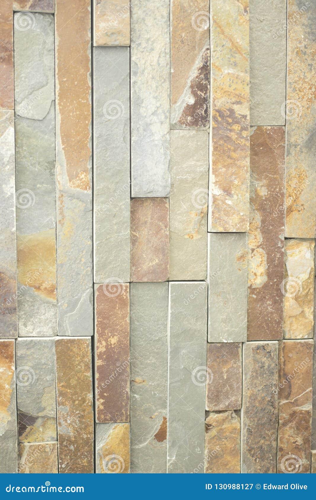 Kitchen Bathroom Tiles Stone Effect Stock Image - Image of ...