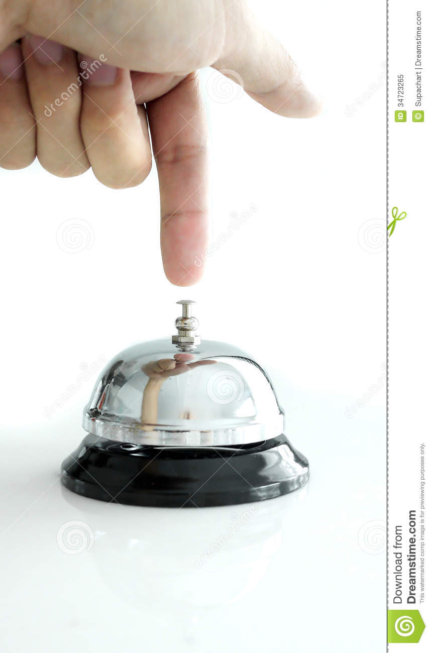 Royalty Free Stock Photo. Download Kitchen Bell ...