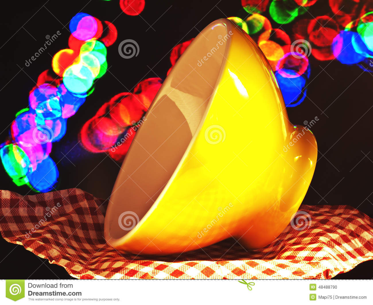 Kitchen Bowl Good Morning Stock Photo Image Of Table Party