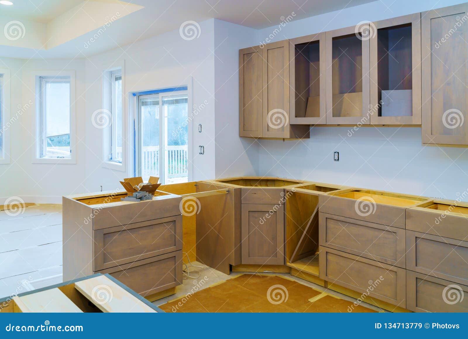Kitchen Cabinets Installation Improvement Remodel Worm\'s ...