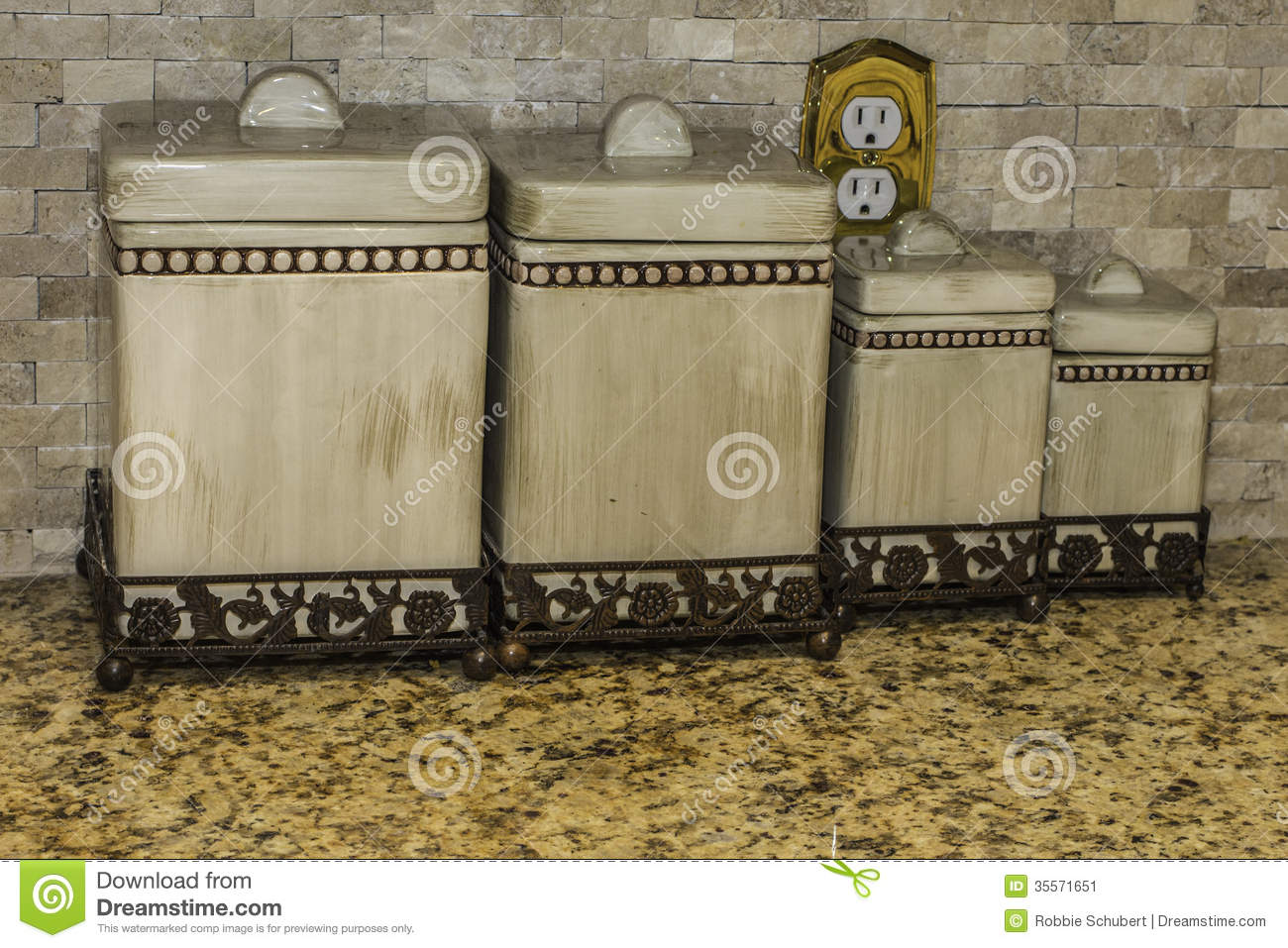 kitchen canisters stock image image 35571651 kitchen object coffee unlabeled canister