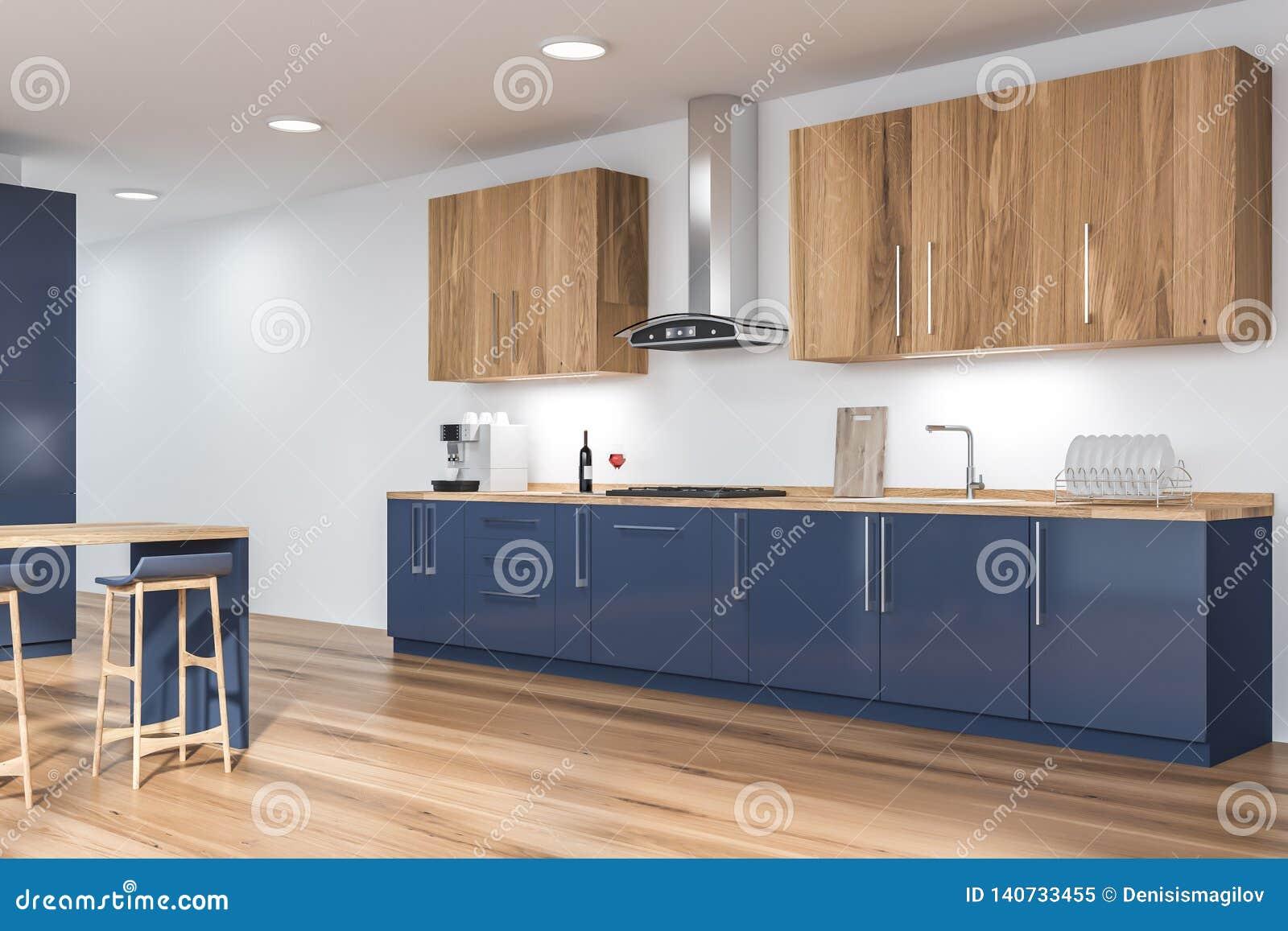 Remarkable Kitchen Corner With Blue Countertops Stock Illustration Inzonedesignstudio Interior Chair Design Inzonedesignstudiocom