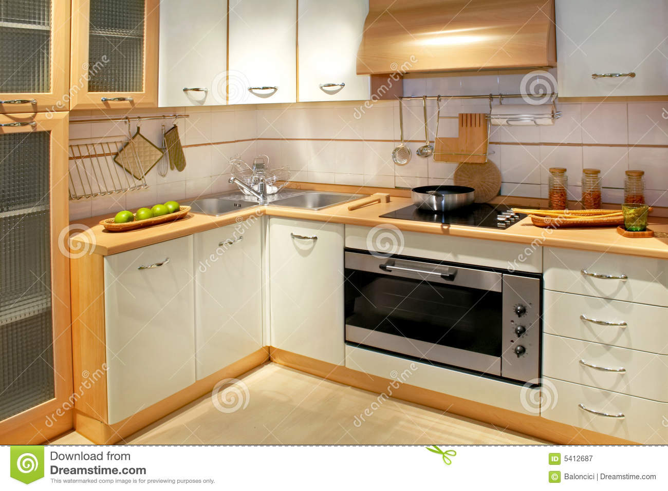 Kitchen Counter 2 Royalty Free Stock Photography Image