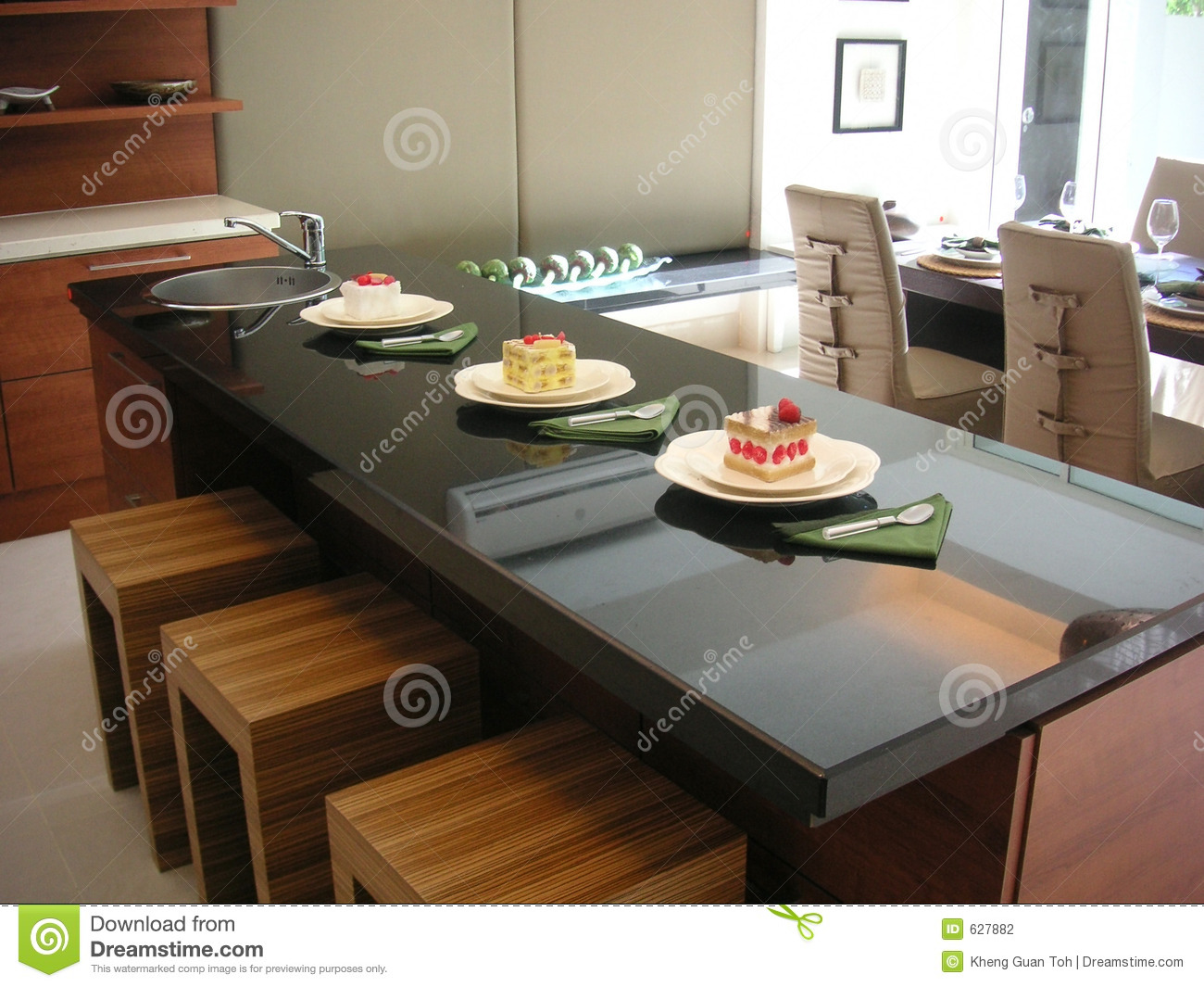 Kitchen Counter Stock Photography Image 627882