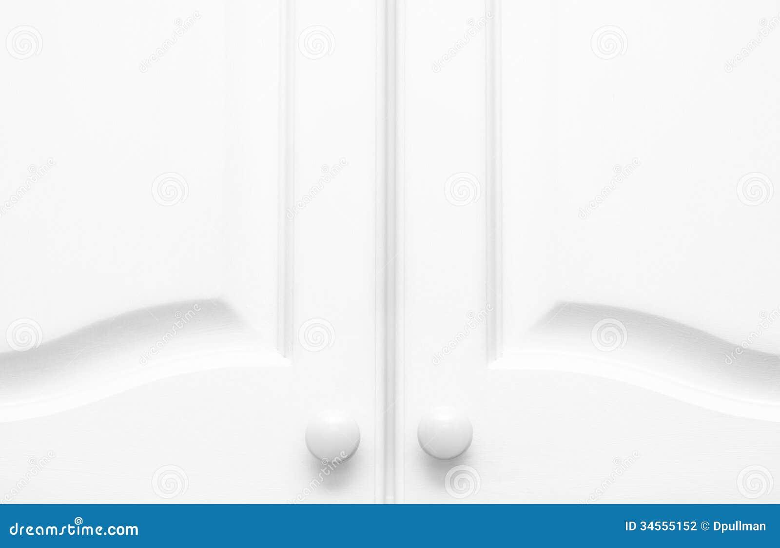 White Kitchen Cupboard Doors kitchen cupboard doors stock photography - image: 34555152