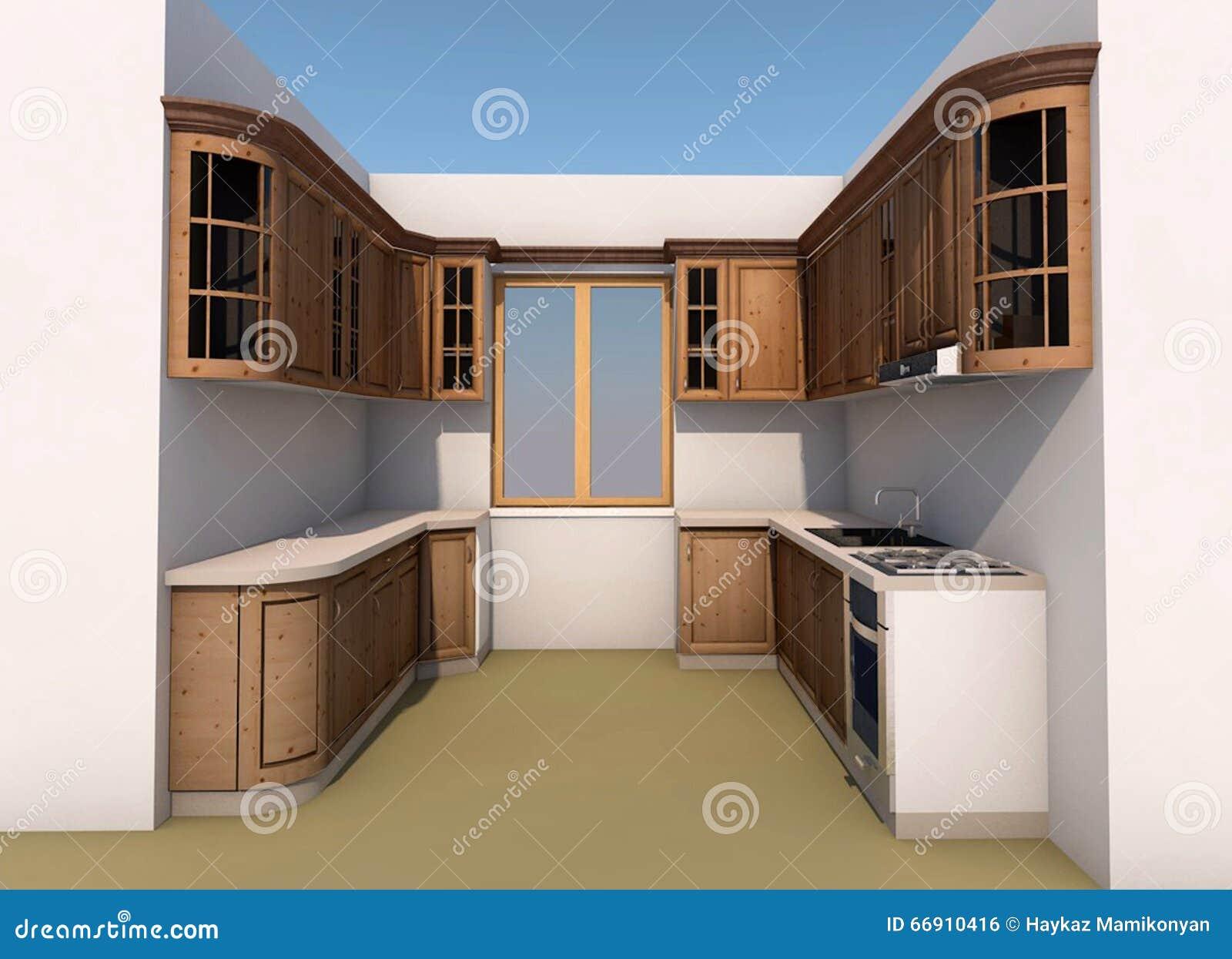 Archicad Artlantis Autocad Design Furniture Interior Kitchen
