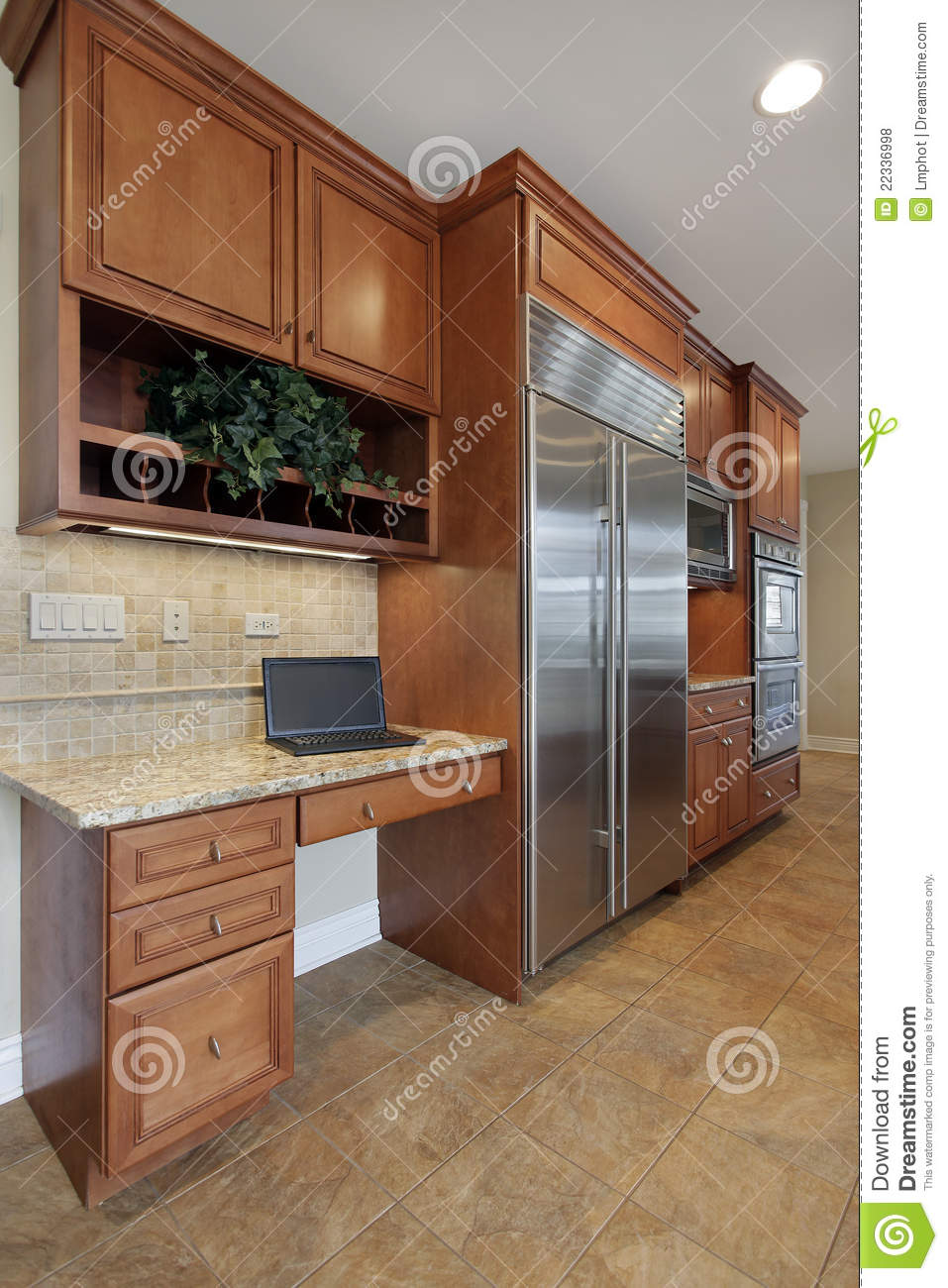 Kitchen Desk Kitchen Desk Area Royalty Free Stock Photos Image 22336998