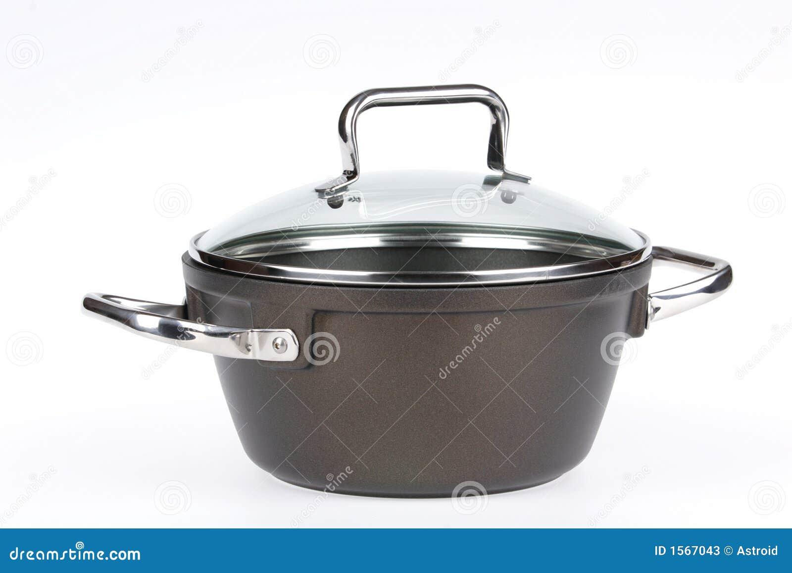 kitchen dishes, saucepan stock photos - image: 1567043