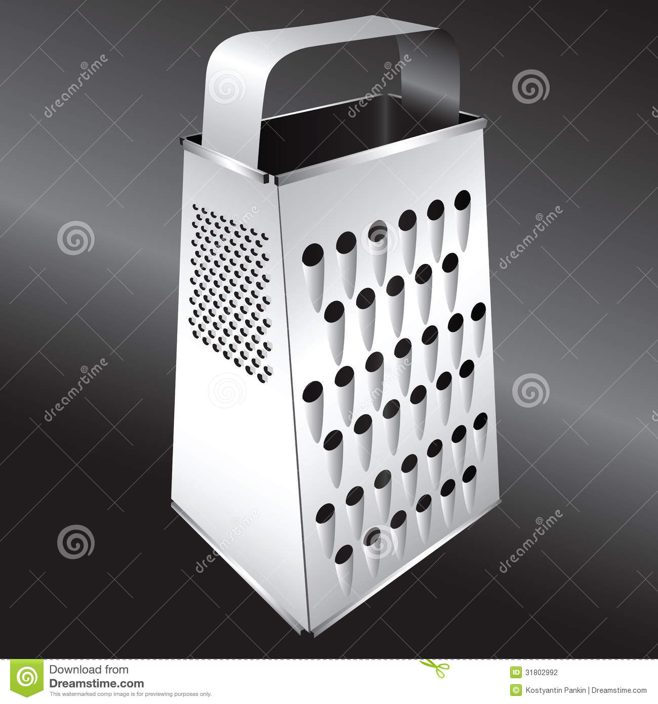 Kitchen Equipment - Grater Stock Photography - Image: 31802992