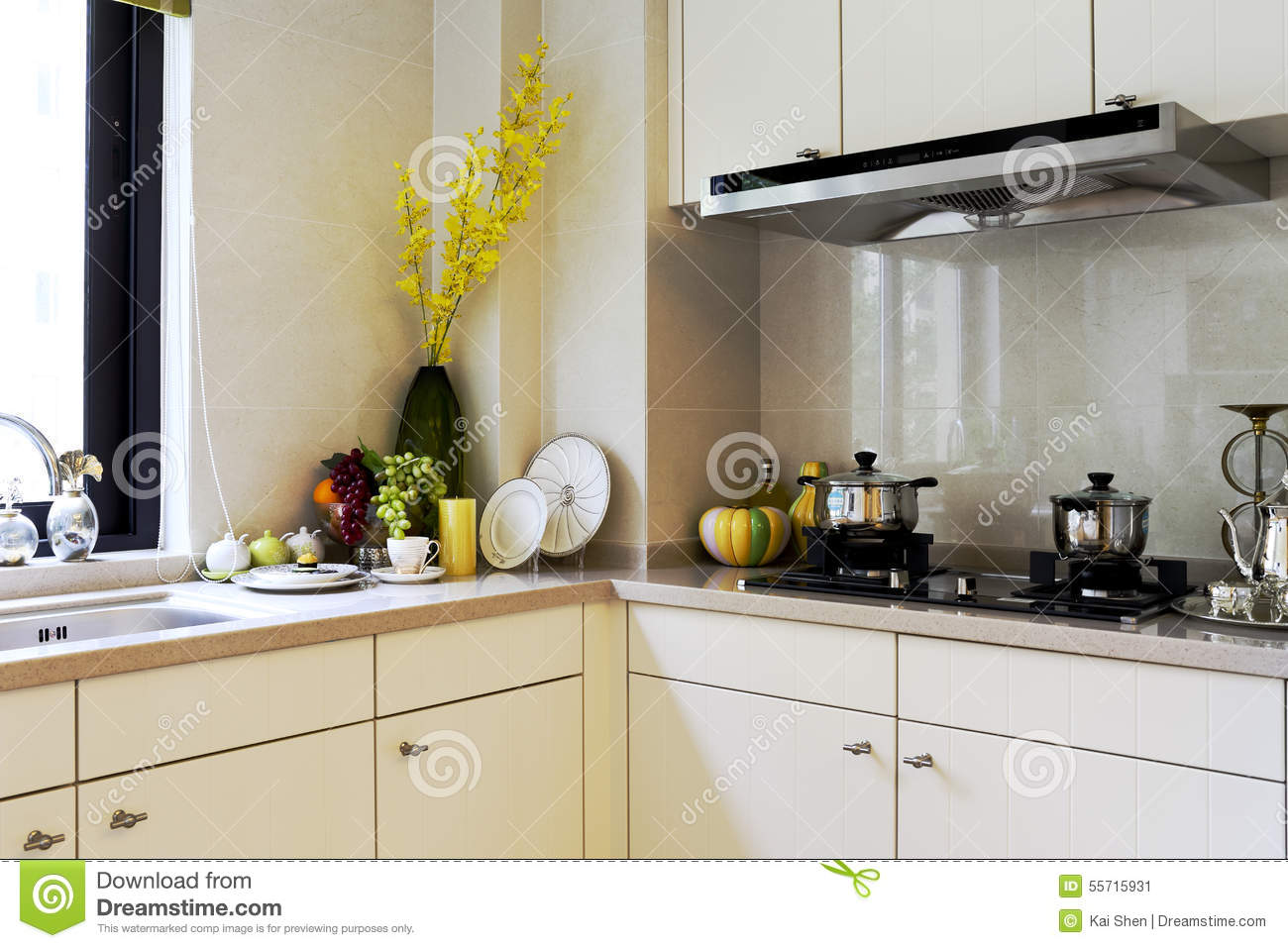 The kitchen of example room
