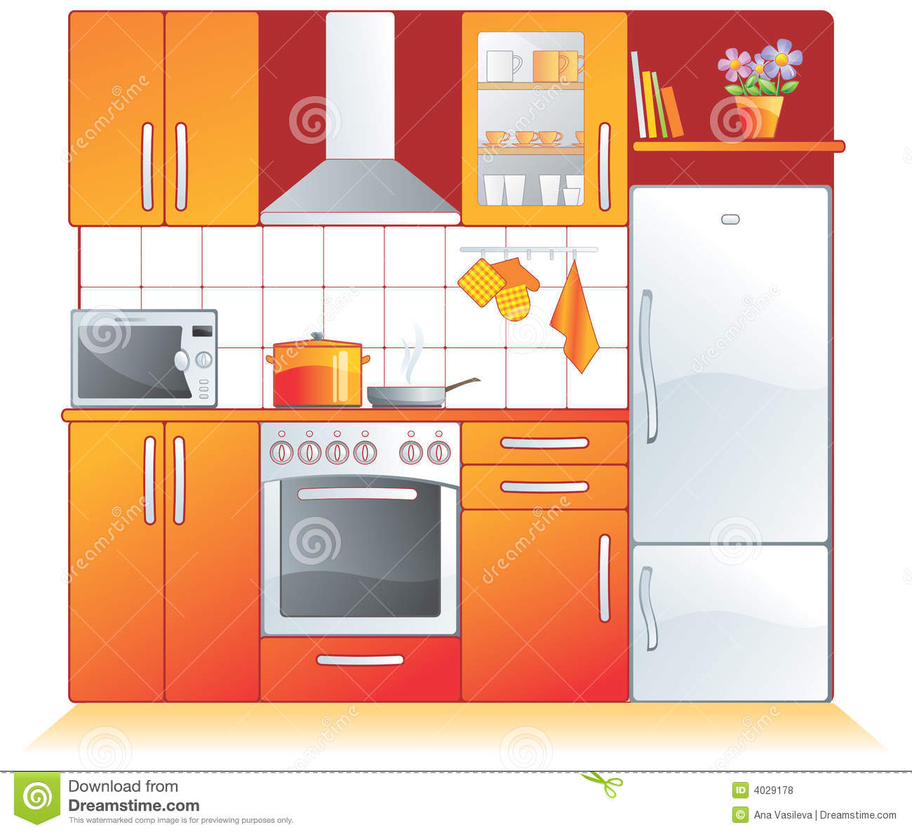 kitchen fittings, appliances royalty free stock photos - image
