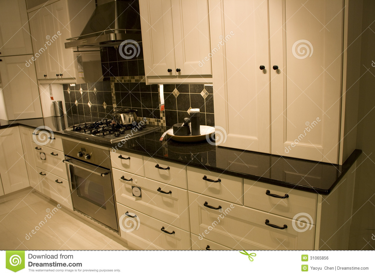 kitchen furniture store royalty free stock image image