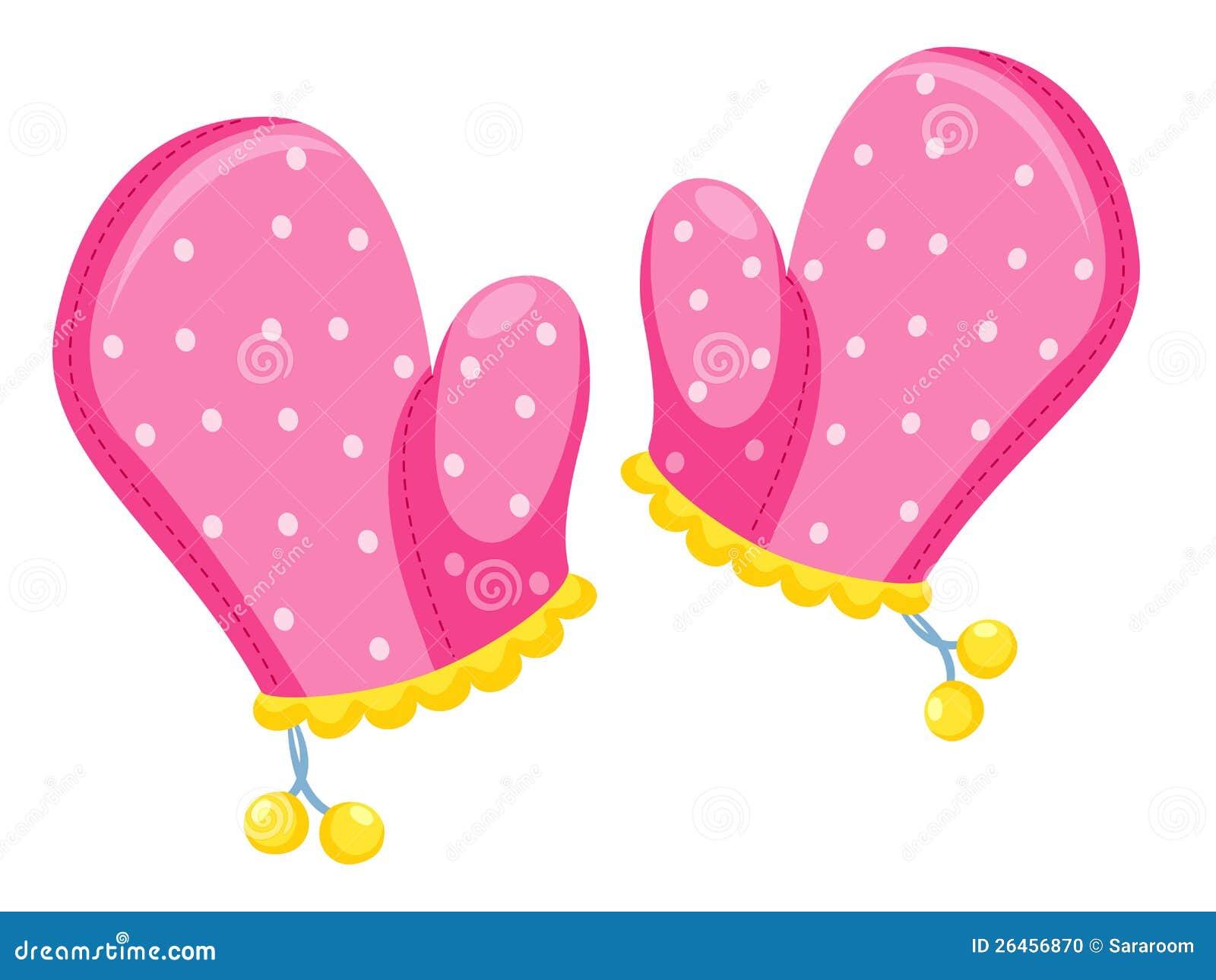 Kitchen Gloves Illustration Stock Photo Image 26456870