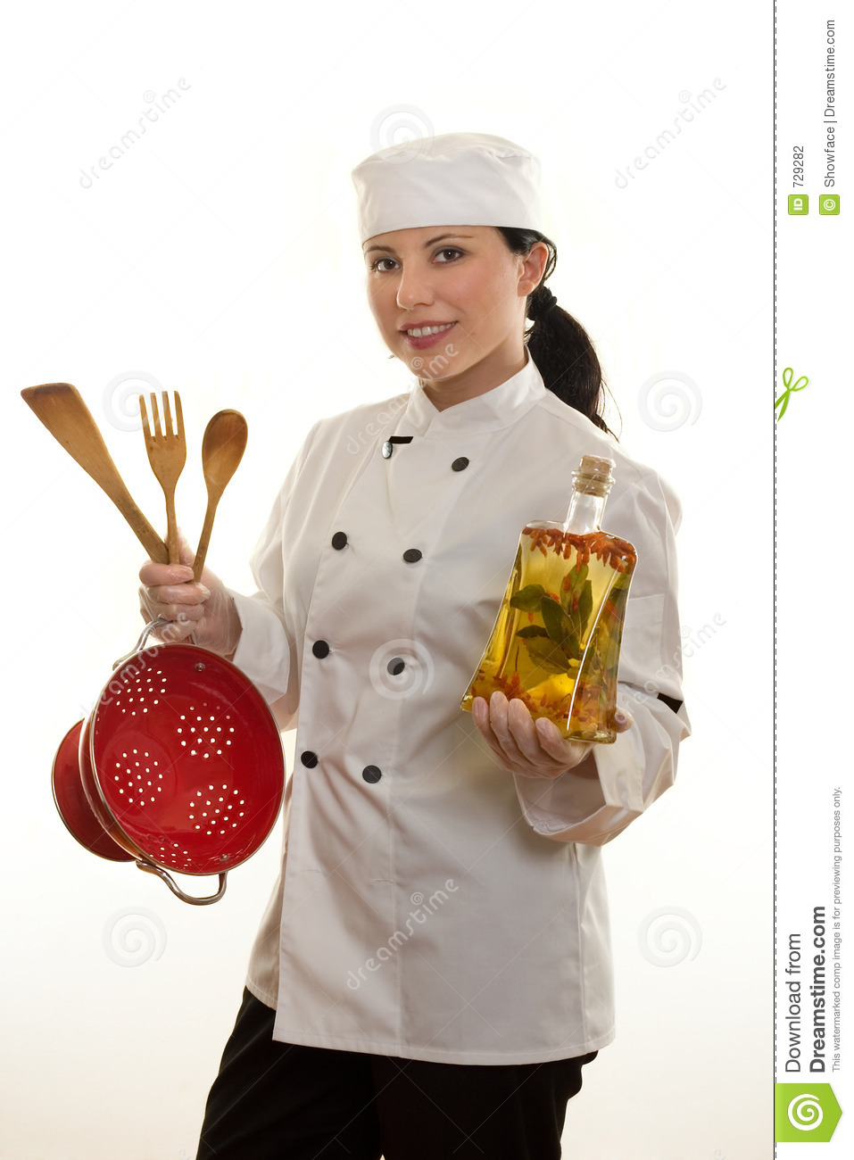 Kitchen Hand Or Chef Stock Photography - Image: 729282