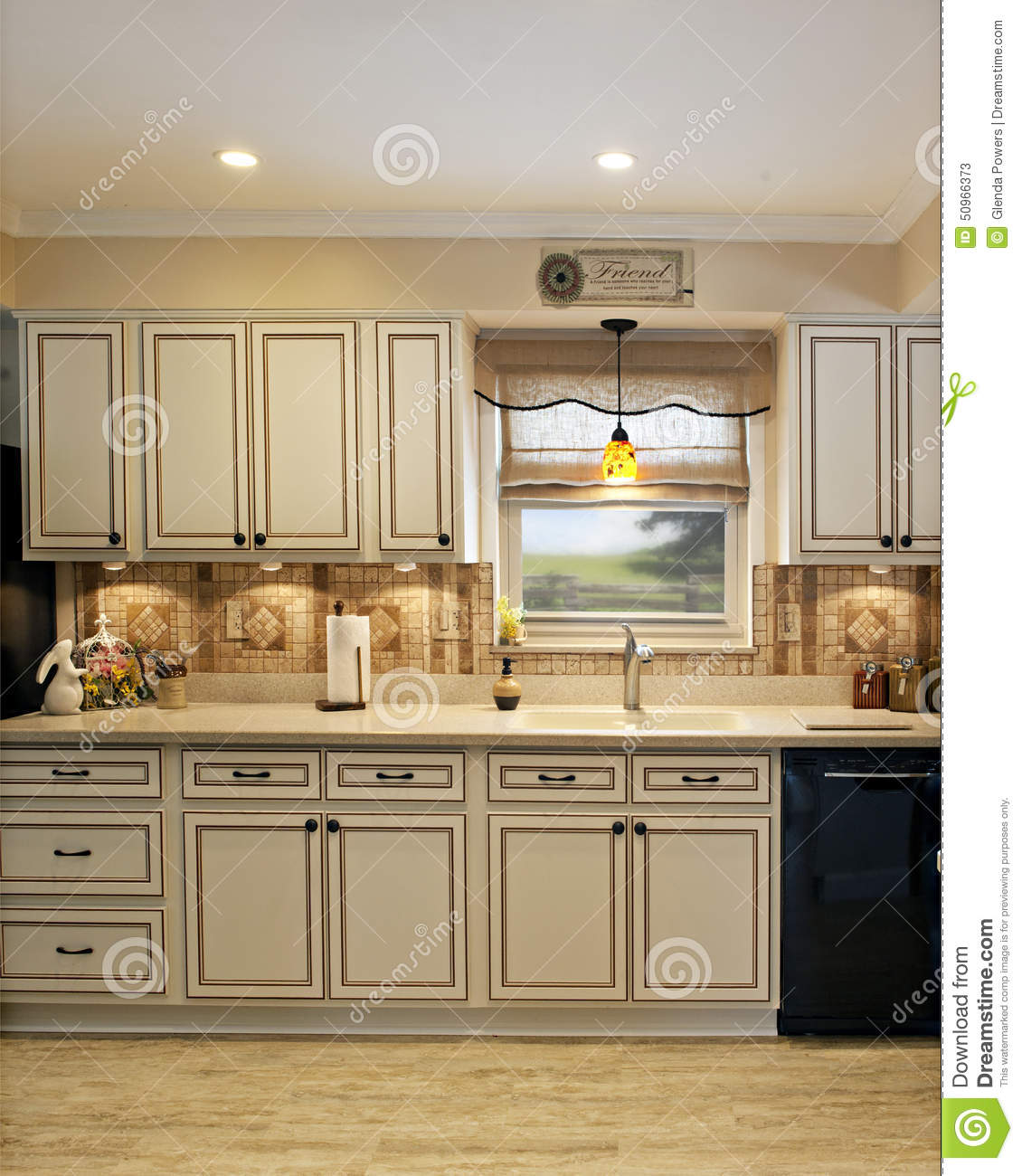 Kitchen Home Improvement Project Stock Image