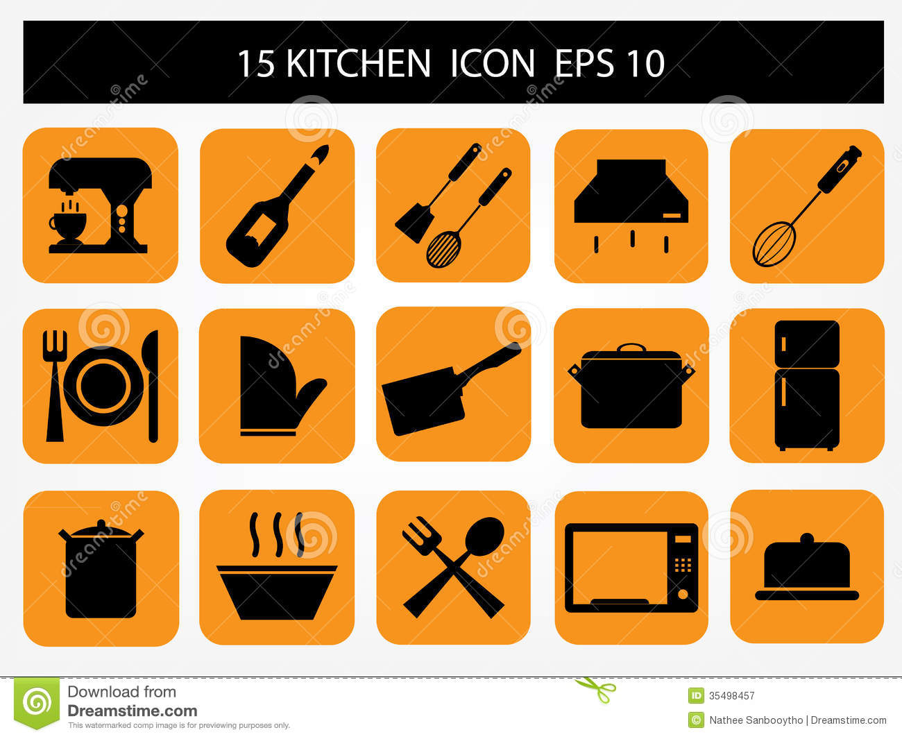 Exceptionnel Kitchen Icon. Food, Baking.