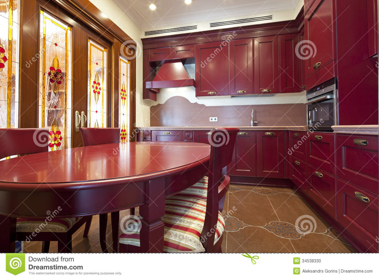 Kitchen Stock Photo - Image: 34538330