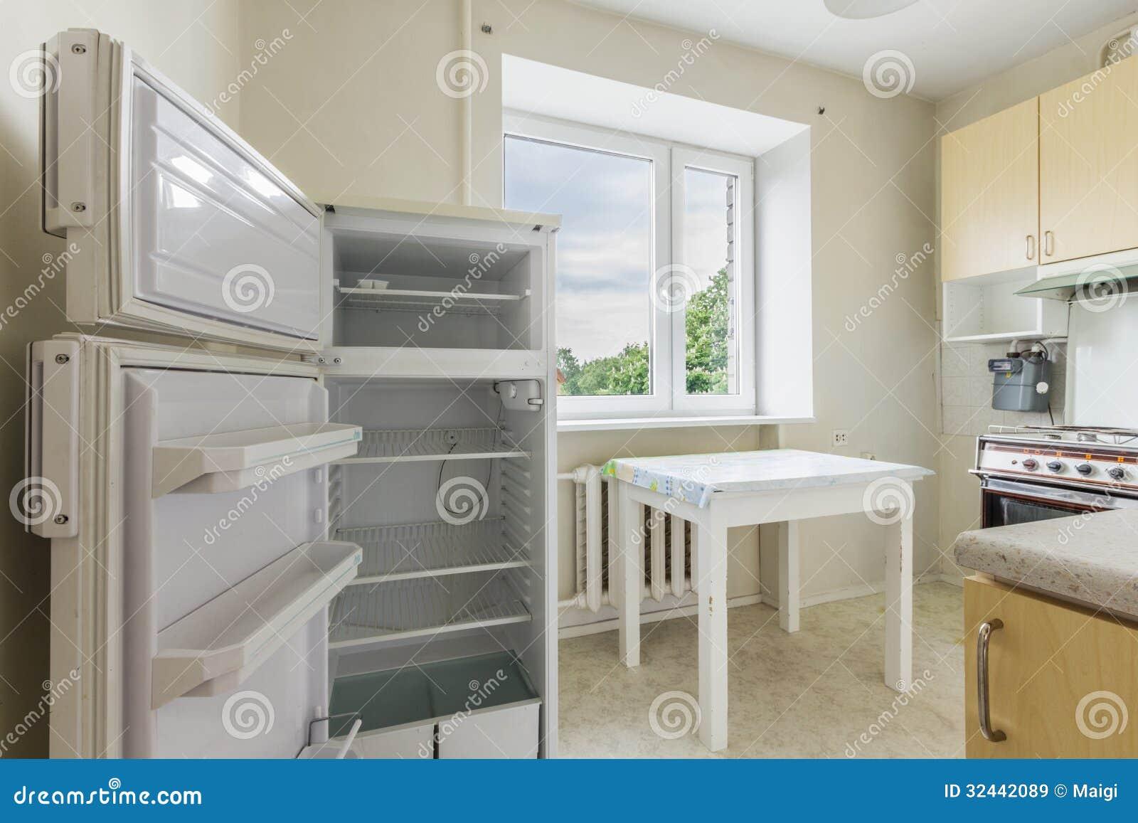 Download Kitchen stock image. Image of interior, fridge, move - 32442089