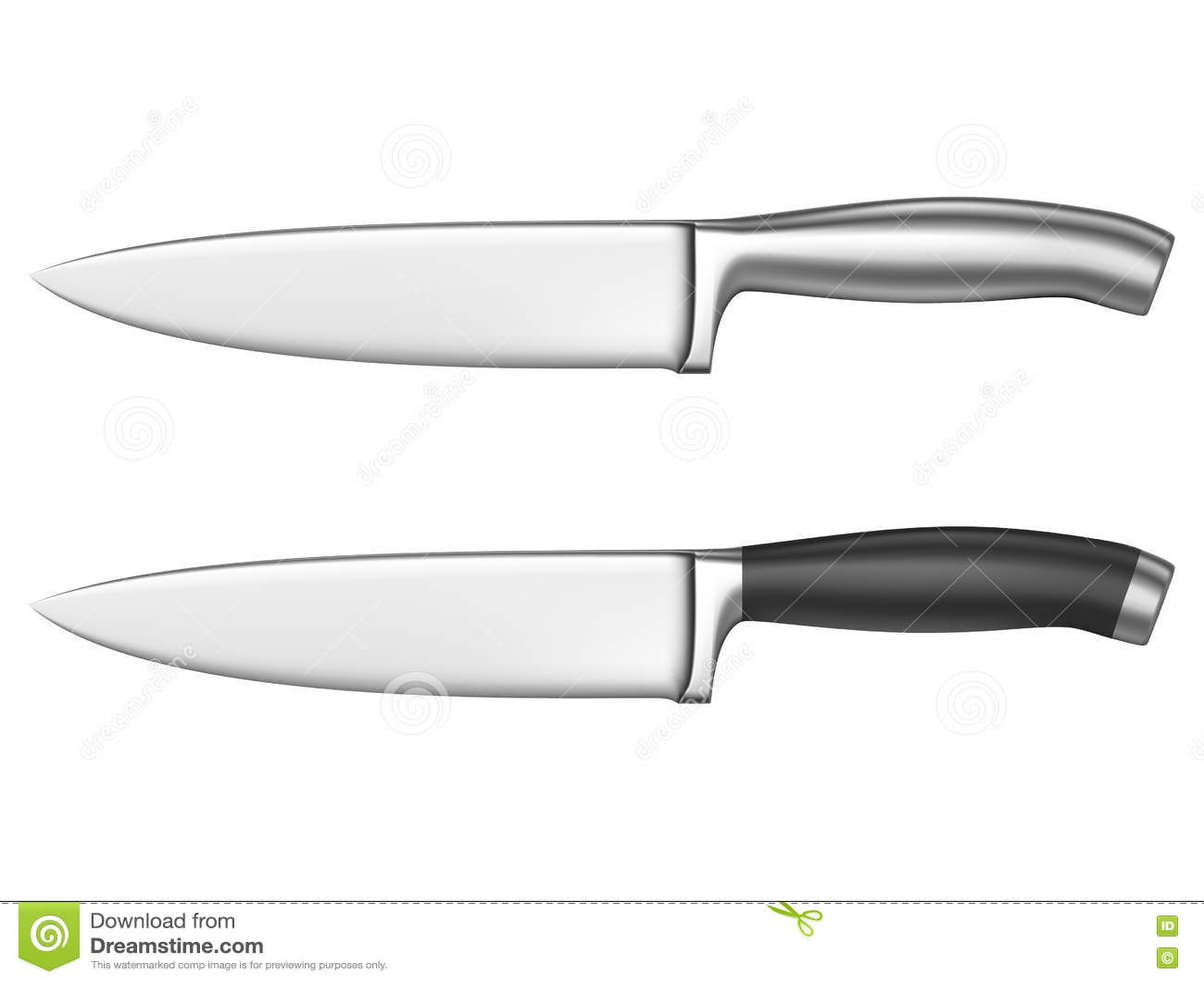 kitchen knife stock vector image 75429726