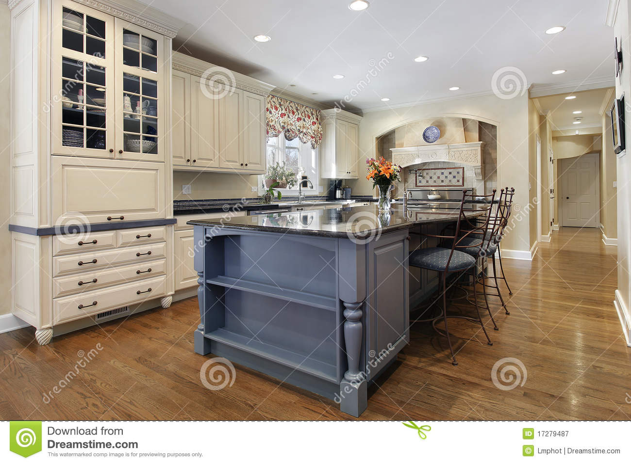 centre island kitchen kitchen with large center island stock image image of 2054