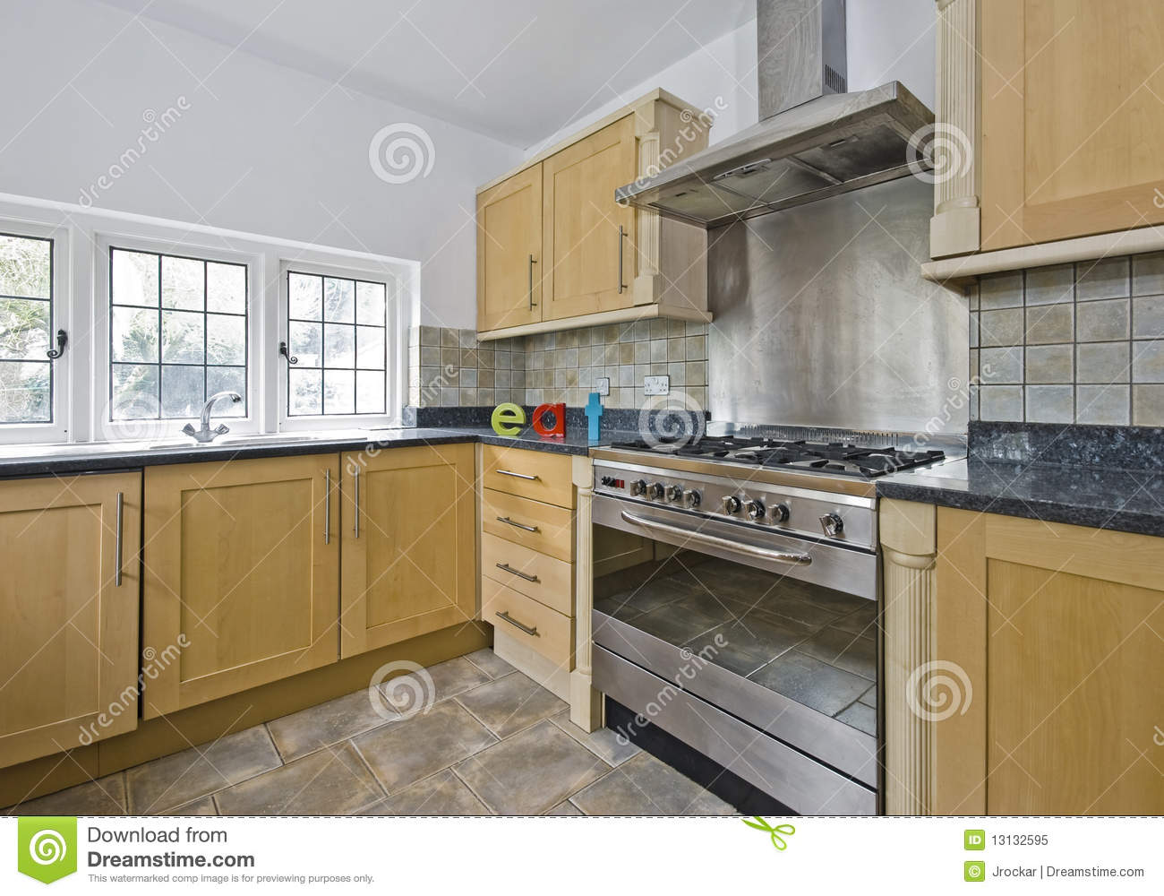 Kitchen with large oven stock image image of cook house 13132595 kitchen with large oven publicscrutiny Images