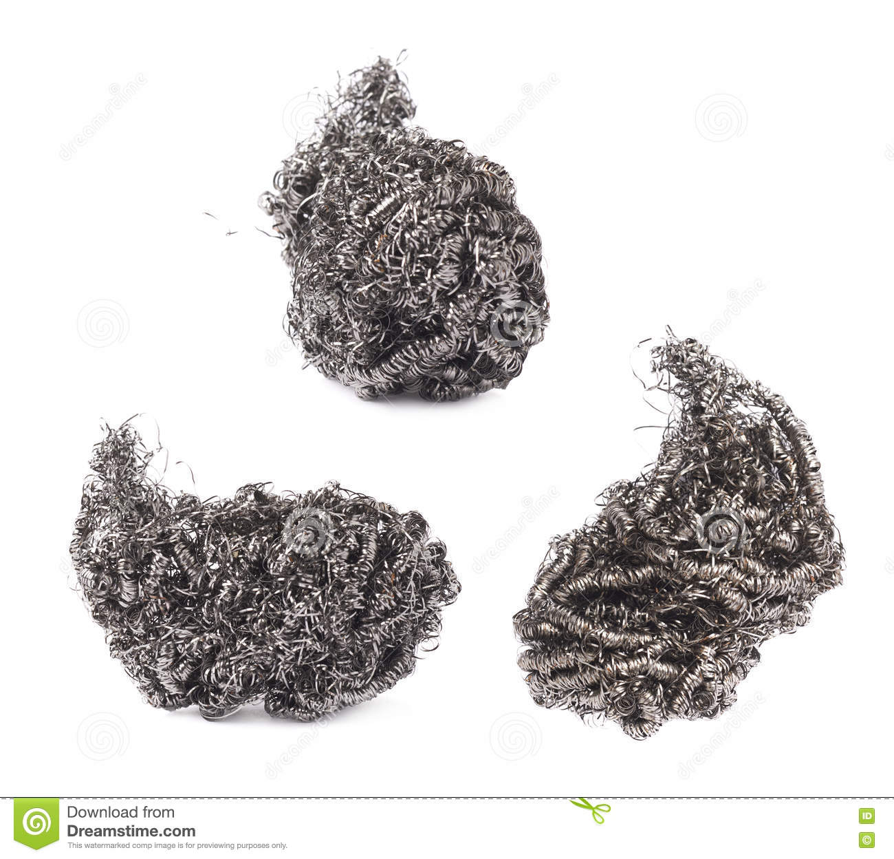 Sponge and metal cleaning scourers stock photo 43005582 - Seven different uses of the kitchen sponge ...