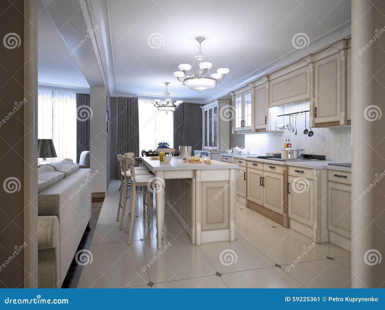 Kitchen provence style stock image. Image of appliances - 59225361
