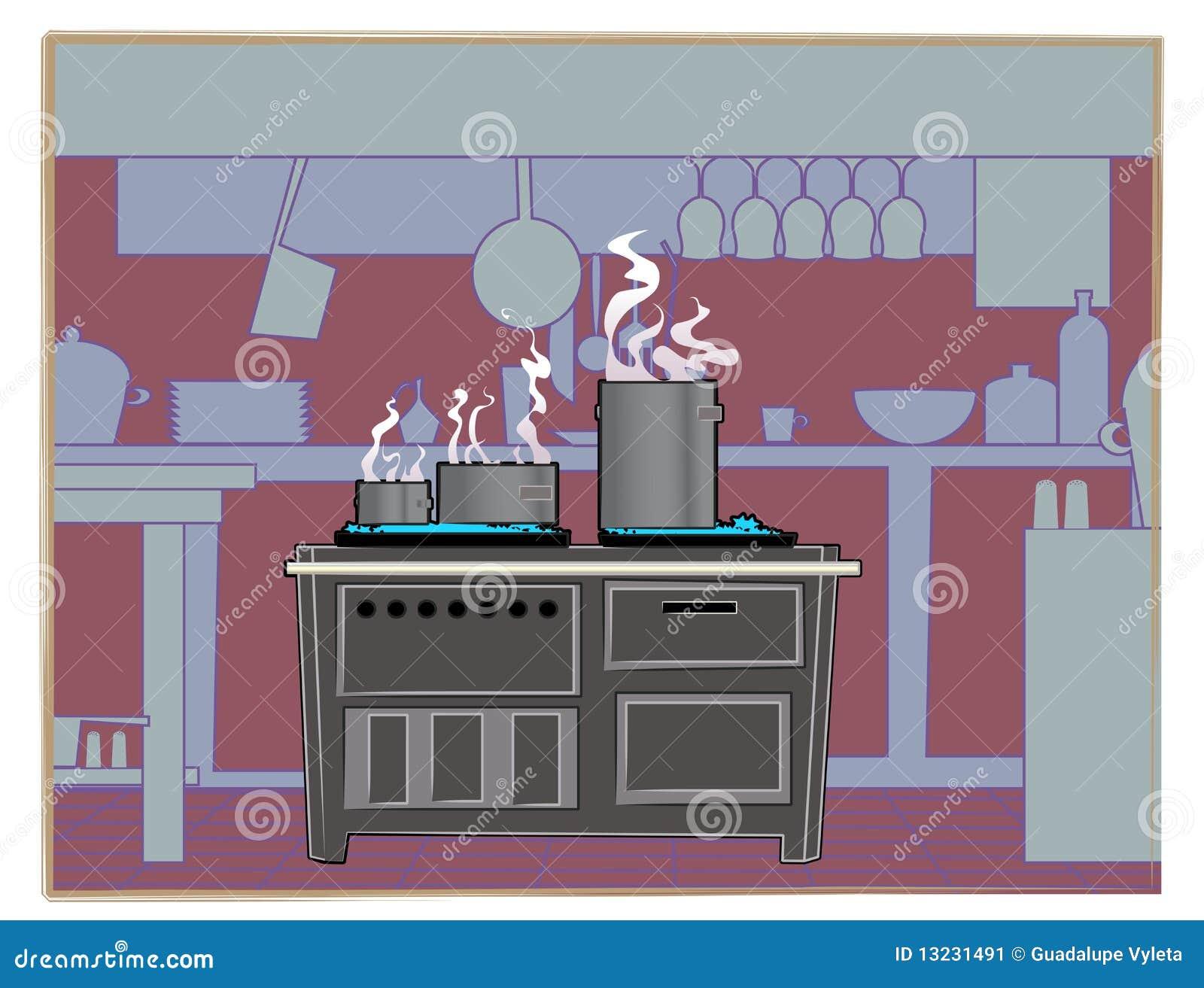 Restaurant Kitchen Background kitchen restaurant background stock image - image: 13231491