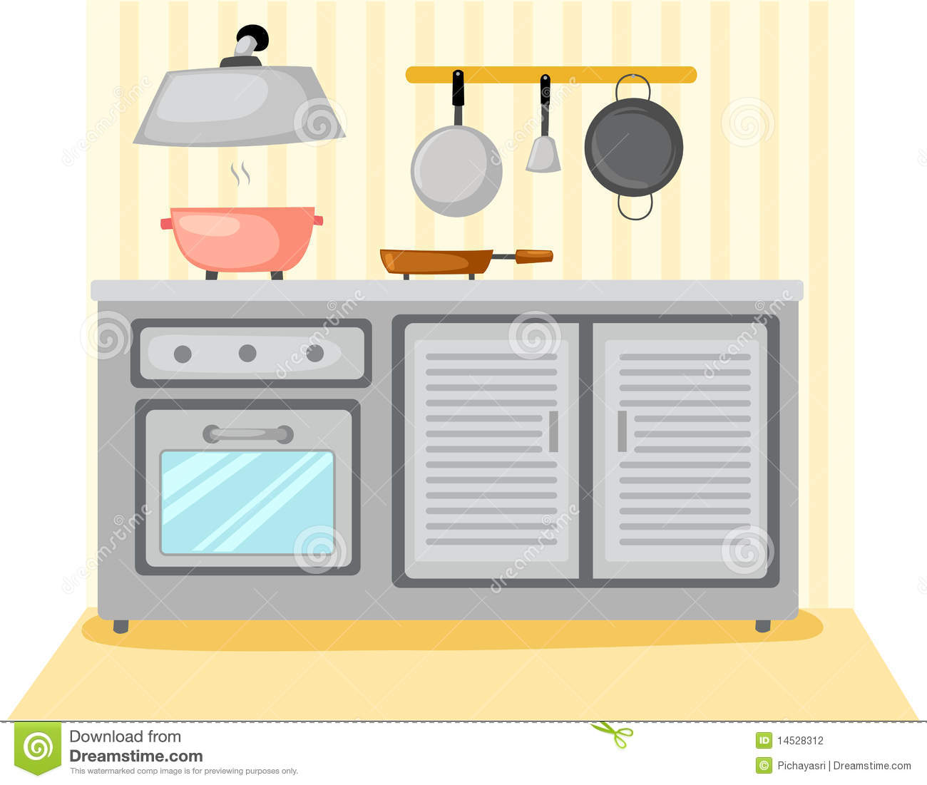 Kitchen room stock photography image 14528312 for Art cuisine evolution 10 piece cooking set
