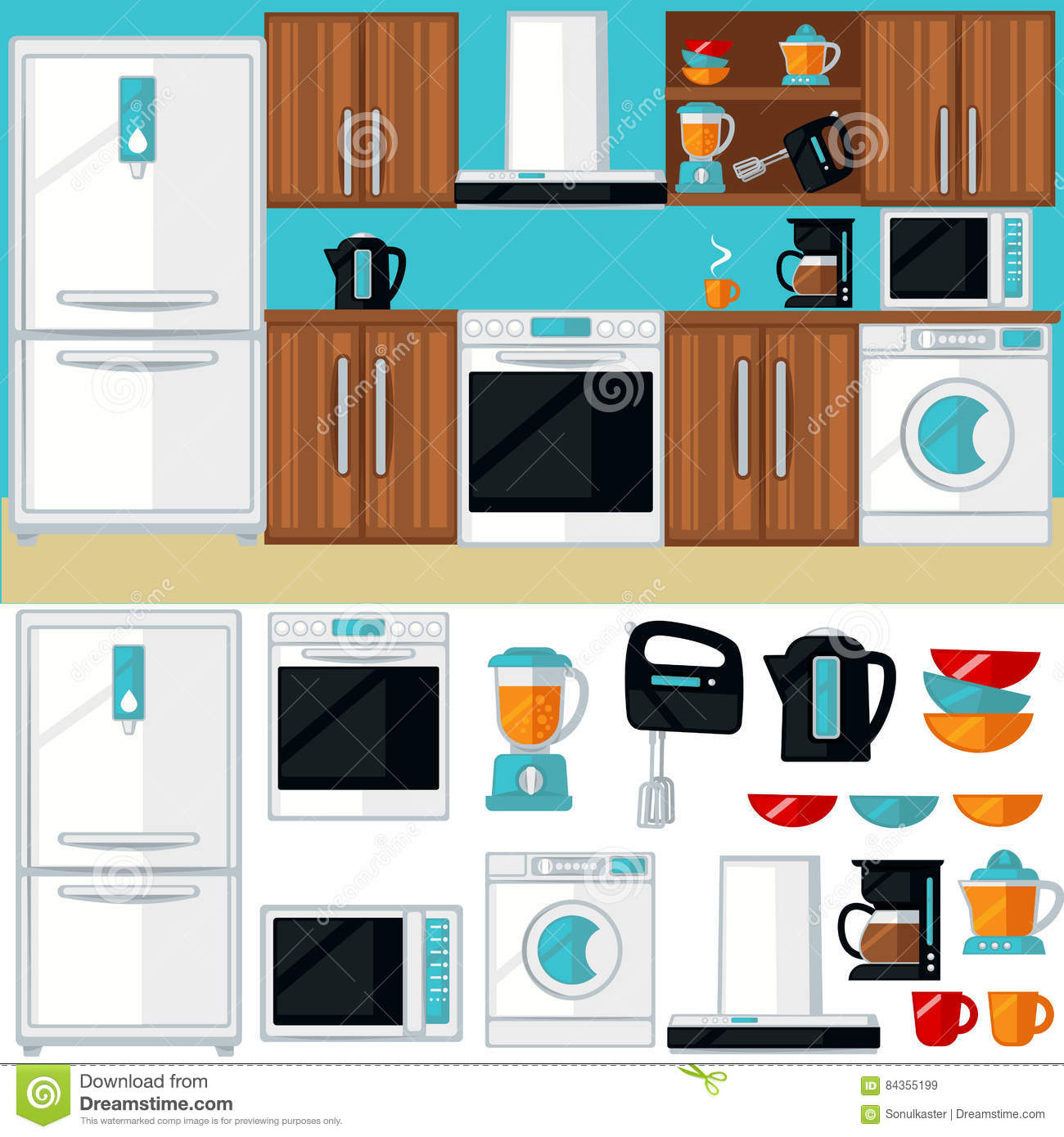 Cupboard Cartoons, Illustrations & Vector Stock Images