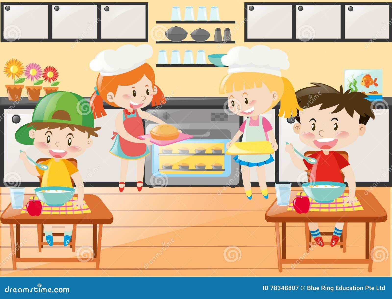 Play kitchen clip art - Illustration Kitchen
