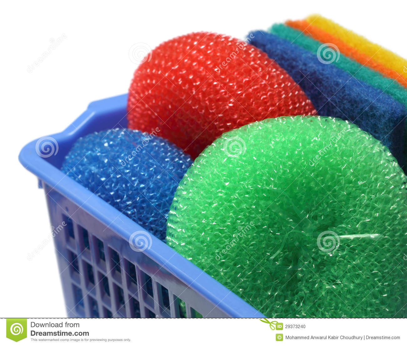 Kitchen Scrubber Stock Image - Image: 20191041