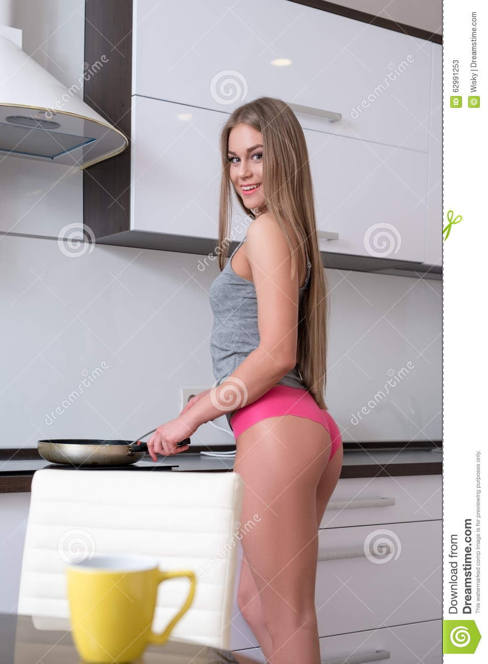Can not Sexy cooking in lingerie seems me