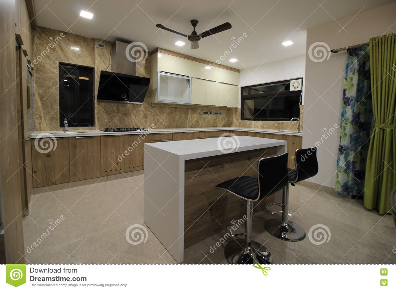 Kitchen Space Stock Image Image Of Texture Appliances 77750231