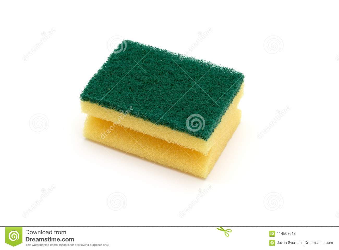 A Kitchen Sponge