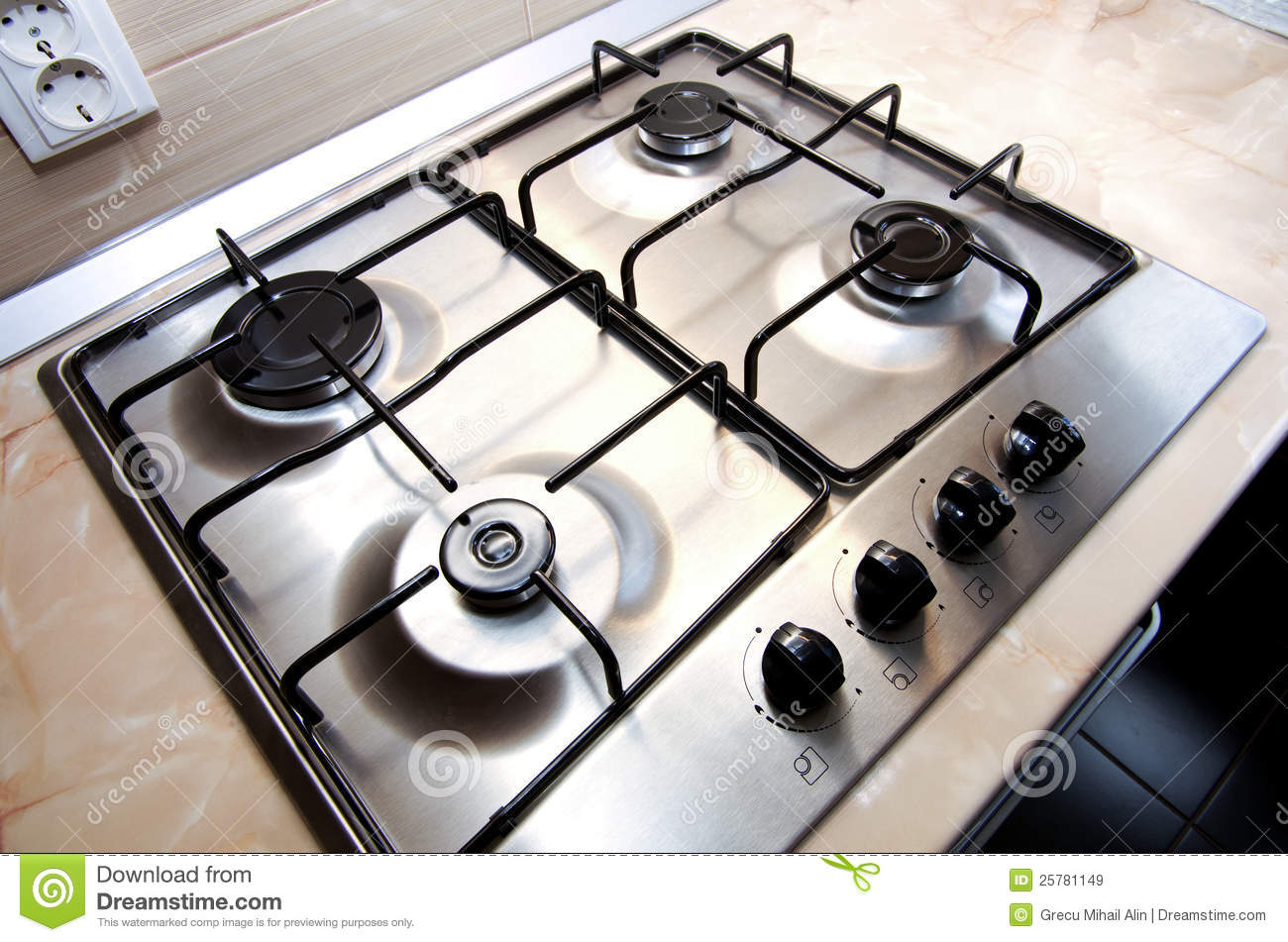 Kitchen Stove Stock Image Image Of Home Design Cuisine