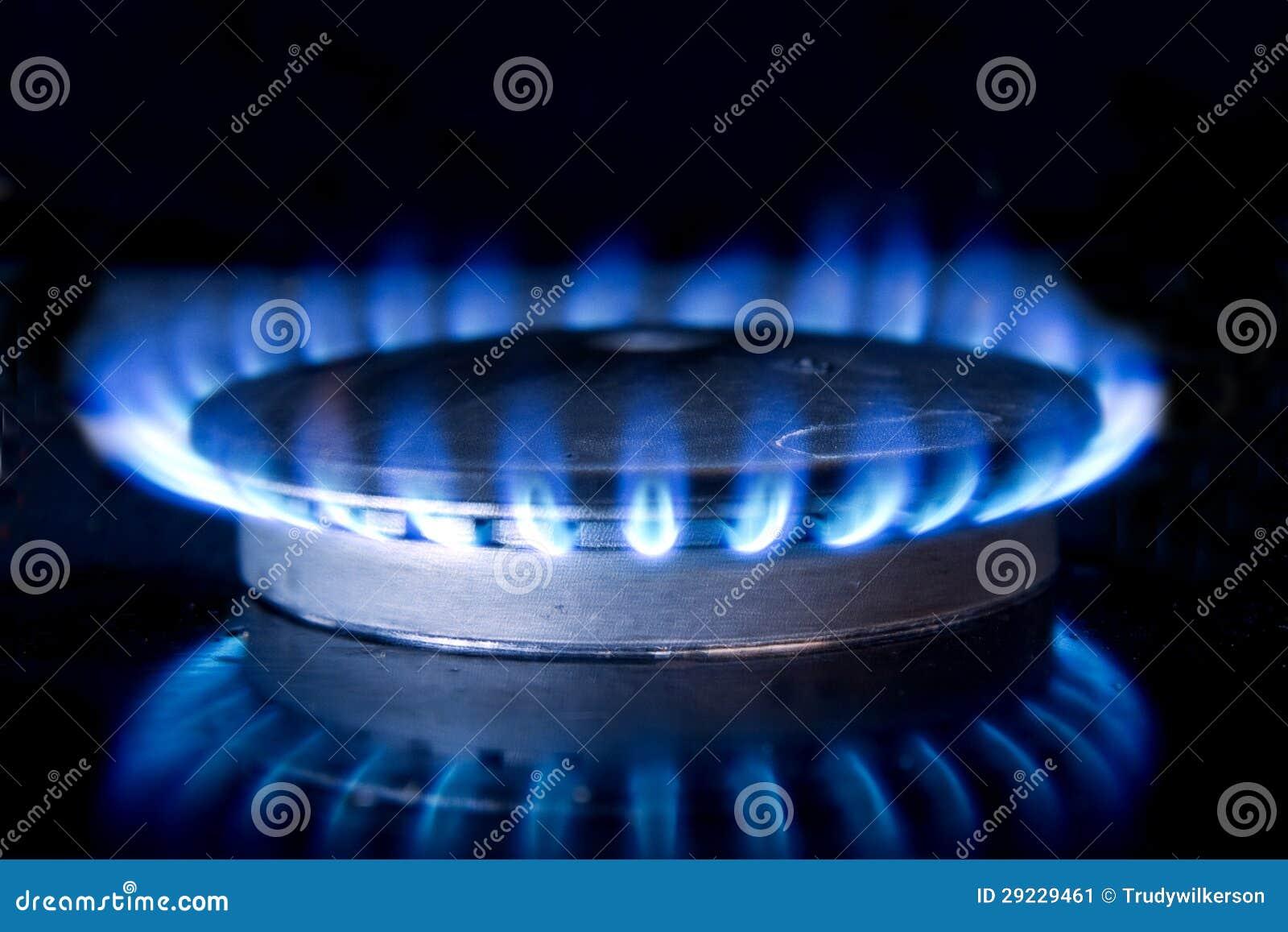kitchen stove top flame stock image image of heating 29229461. Black Bedroom Furniture Sets. Home Design Ideas
