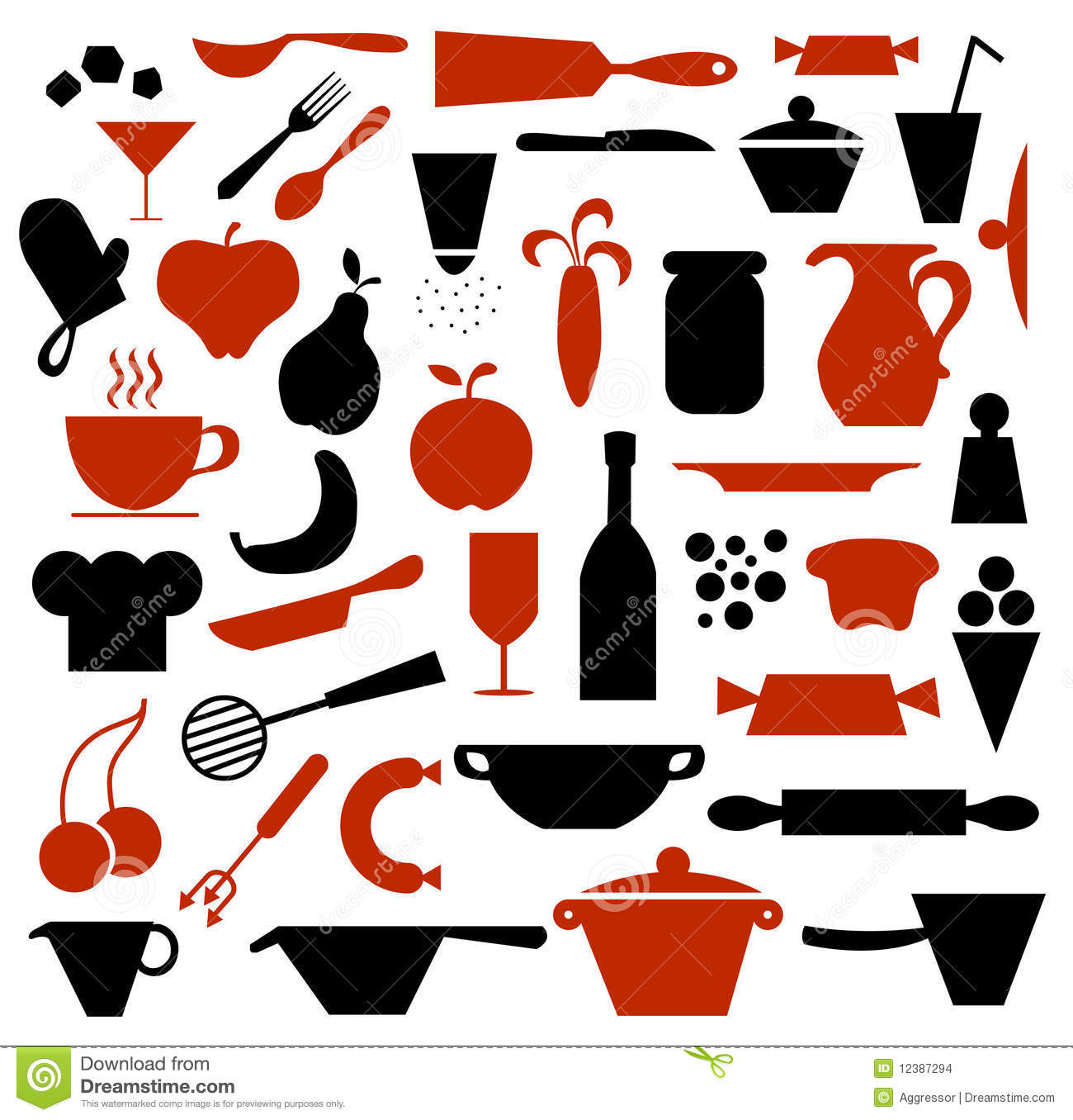 Kitchen Equipment Clip Art ~ Kitchen supplies clip art cliparts