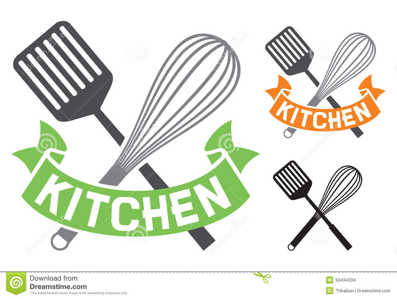 Kitchen Symbol Stock Images - Image: 33434334