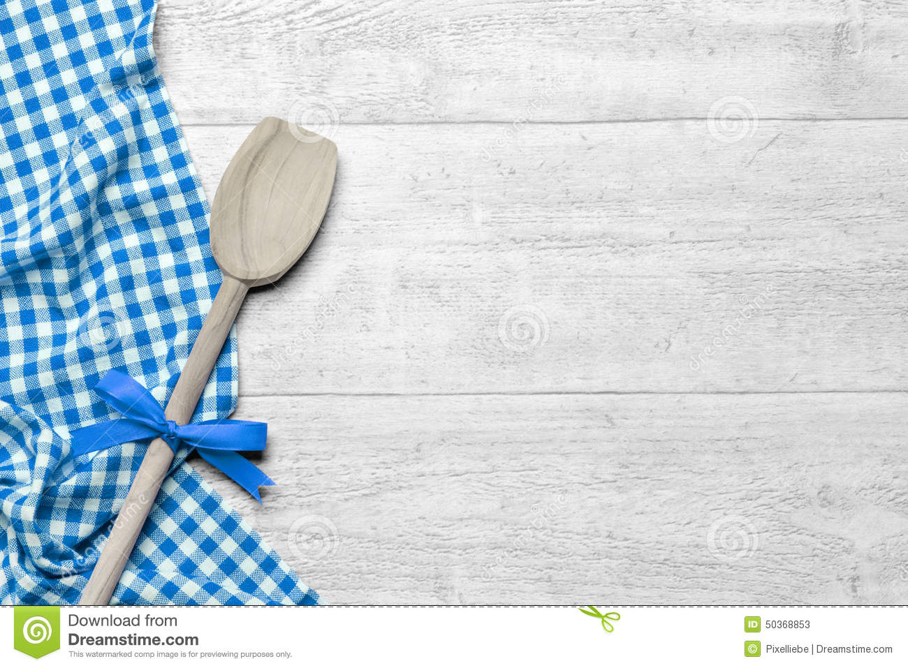 Kitchen table background stock image of food