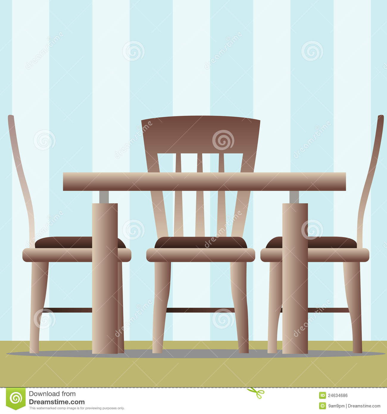 Cartoon kitchen table - Kitchen Table Chair Jpg 1300x1390 Cartoon Table Kitchen