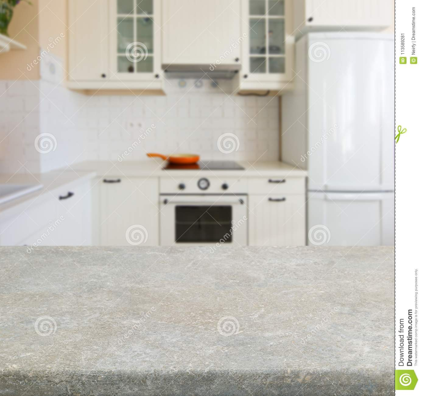 Kitchen Table Top Stock Image Image Of Lifestyle Light 113589281