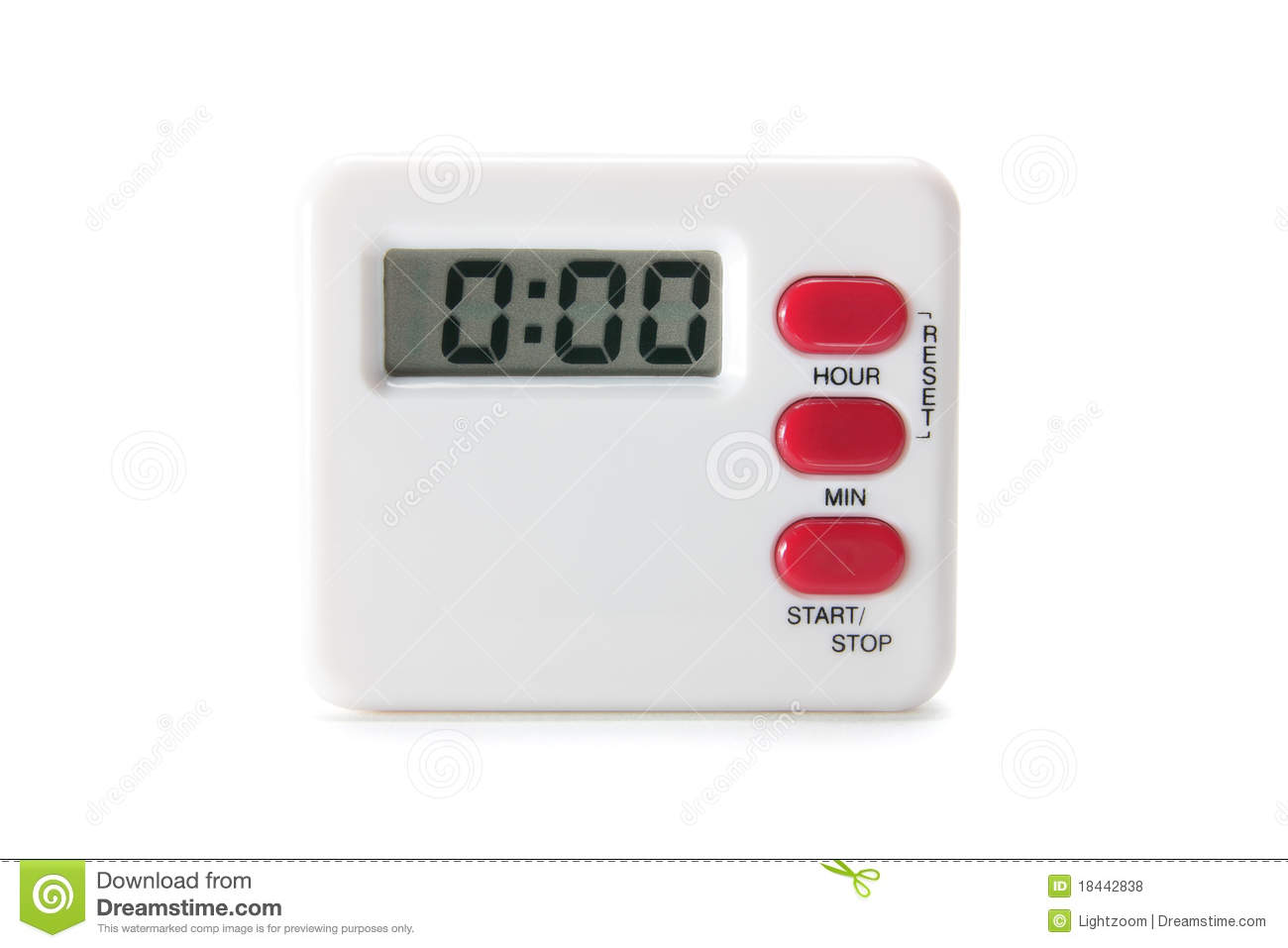 Kitchen Timer Royalty Free Stock s Image